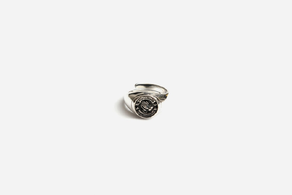 92.5% ORIGINAL SILVER GOOD VIBRATIONS RING